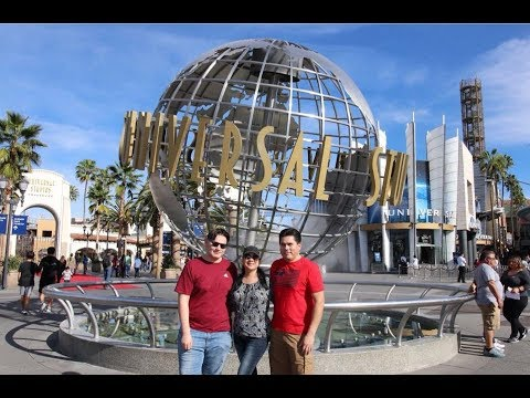 Vacaciones a Universal Studios Hollywood California