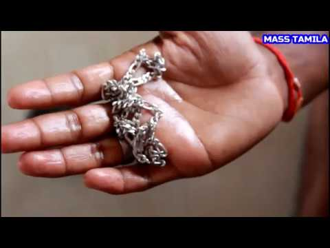 Remove Black Spot | In Silver Chain | வெள்ளி சங்கிலியில் கருப்பு | இடத்தை அகற்று | Tamil Valam