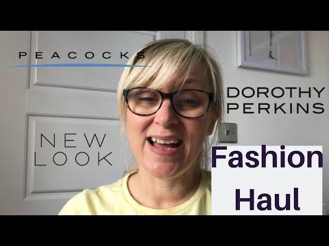 NEW LOOK, DOROTHY PERKINS & PEACOCKS HAUL  - Summer fashion size UK 12-14