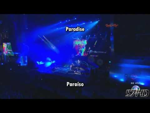 Coldplay - Paradise HD Live Video Subtitulado Español English Lyrics