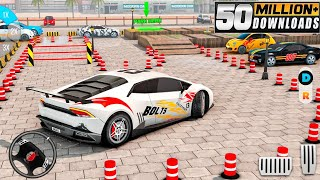 Car Parking 3D Driving Games 2021 - Green Modern Car Driving Levels 1 to 30 Completed Gameplay screenshot 5