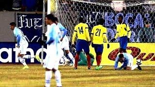 Goles - Resumen | Amistoso Internacional - Argentina (2) Ecuador (1) 31-03-2015 | ᴴᴰ