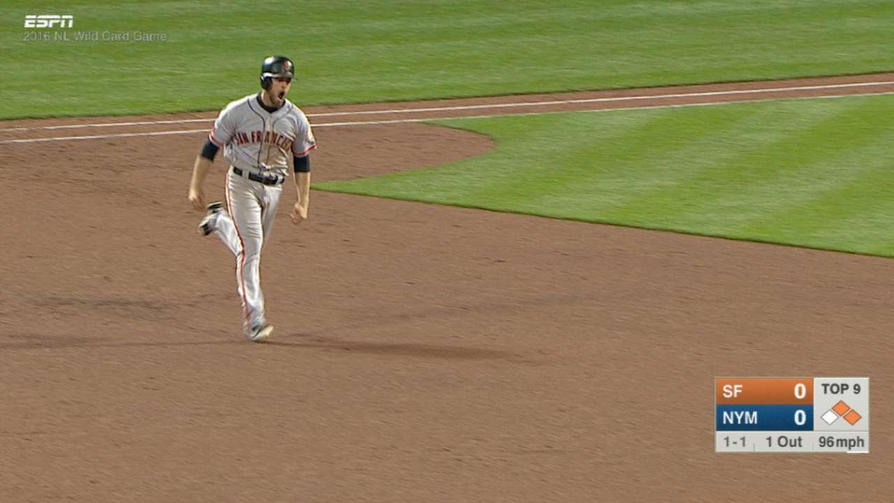 Download SF@NYM: Gillaspie delivers go-ahead three-run homer in 9th