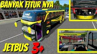 Update Review Lengkap JETBUS 3 SHD BANYAK FITUR nya Mod Bussid