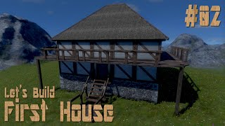 Medieval Engineers Let's Build: First House - Part 2