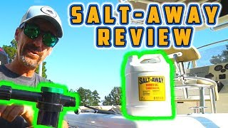 Salt-Away Product Review and Demonstration (Boat Washing and Care)