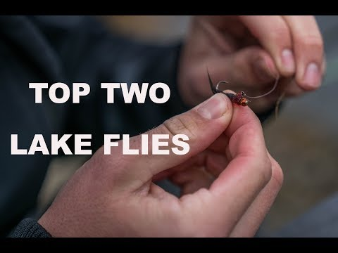 FLY TYING FRIDAY! My two favorite lake flies for trout and how to tie them!