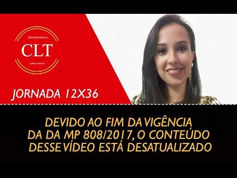 JORNADA 12x36  - ATUALIZADO CONFORME A MP 808/2017