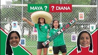 ¡VIVA MÉXICO! Reto de fútbol de LOTERIA MEXICANA con CASTIGO PICANTE | Dúo Dinámico