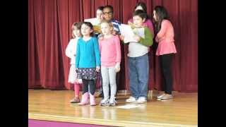 Children choir of Song 120 - Listen Obey and be Blessed