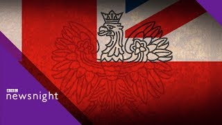 Polish embassy 'funded far-right speakers' at UK event - BBC Newsnight