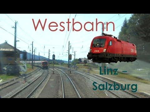 Führerstandsmitfahrt RAILJET - Westbahn Linz - Salzburg [HD] - Cab Ride High Speed Train