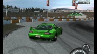 NFS Pro Street Mazda RX7 Drift Próbálkozás