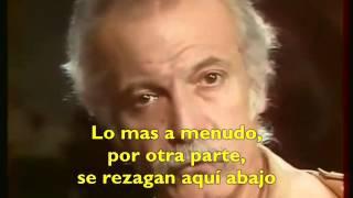 Georges Brassens - Mourir pour des idées subtitulada en español