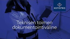 Kotopro – kunta-alan teknisen toimen dokumentointiväline
