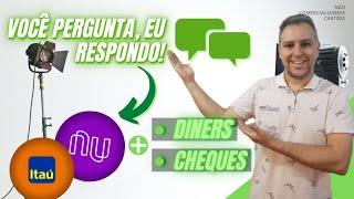 💳 Live: Novo Cartão Diners Do BB, Novo Infinite ITAÚ! Você Pergunta Eu Respondo 👍