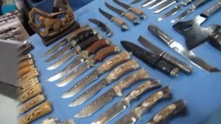 """Выставка """"Клинок"""" Выставка в Сокольниках. Обалденные ножи и разные оригинальные предметы! Подарки"""