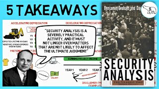 SECURITY ANALYSIS | PART 2- FINANCIAL STATEMENTS (BY BENJAMIN GRAHAM)