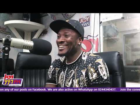 EXCLUSIVE WITH ASAMOAH GYAN AFTER AFCON - #JoySMS ON JOY FM (9-8-19)