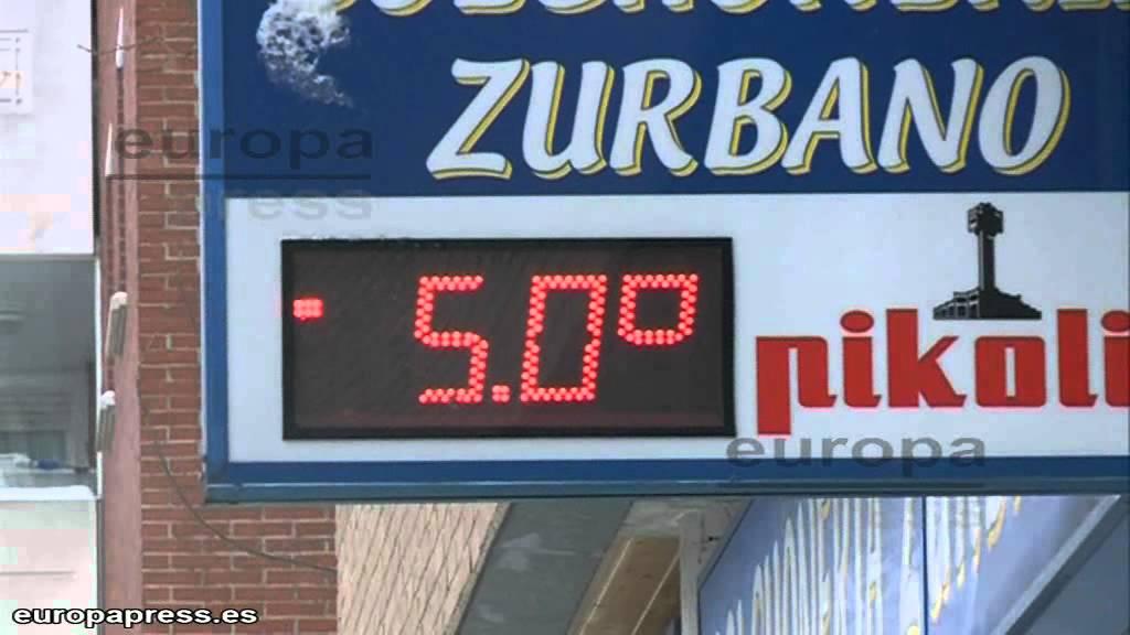 Termometros En Vitoria Marcan 5 Grados Bajo Cero Youtube Termometro infrarrojos idoit termometro infrarrojos sin contacto termometro frontal pantalla oral (bajo la lengua), axilar (en la axila) y rectal (en el ano). termometros en vitoria marcan 5 grados bajo cero