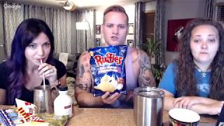 LIVE - AMA - Ralli Roots & Callie Try Canadian Snacks - Funny 😂😂😂