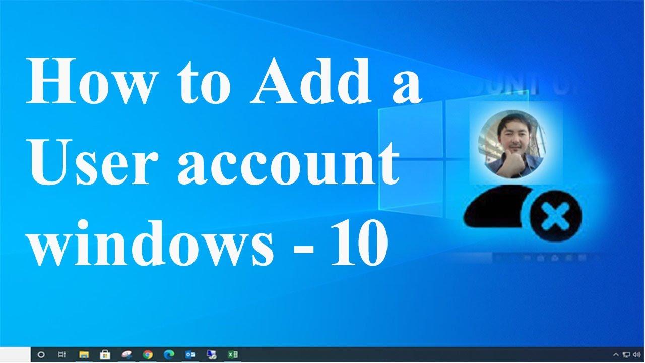 Windows 10 – Create multiple account / additional accounts   YouTube