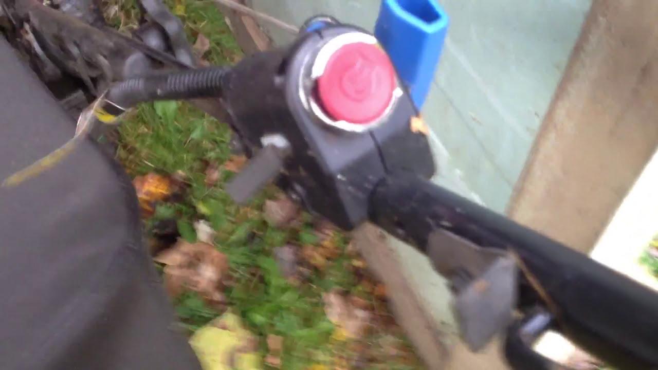Craftsman Push Button Start Lawnmower Ez Push Button Start