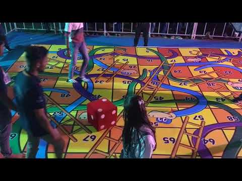 LIFE SIZE SNAKE AND LADDER