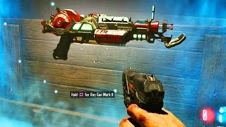 Black Ops 3 Zombies - Ray Gun Mark 2 Every Time GLITCH! (DLC 5 Zombies Chronicles)