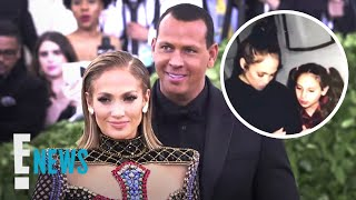 Alex Rodriguez Shares Unseen Pic of J.Lo in Daughter's Birthday Vid | E! News