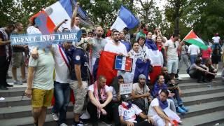 Manifestation pro-palestinienne interdite : Heurts à Paris