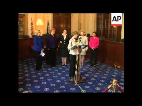 Female Senators launch support group for Aung San Suu Kyi