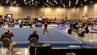 Rebecca Chong Level 10 J. O. Nationals 2014 Floor Routine