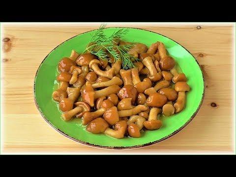 Маринованные грибы (из замороженных) Очень просто! Очень быстро!