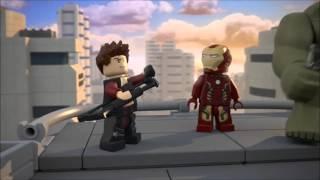 видео Конструкторы Лего из серии Lego Super Heroes