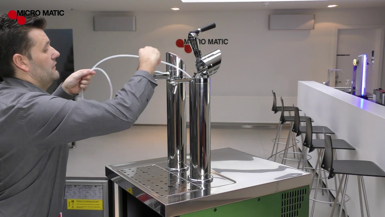 How to replace FlexiDraft Beer Line D System | Micro Matic | Phoenix AZ |  Tucson AZ | Las Vegas NV