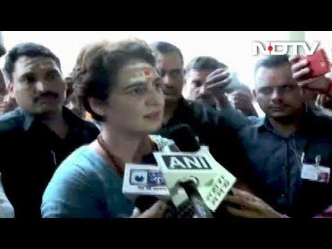 """""""I'll Be Back"""", Says Priyanka Gandhi After Meeting UP Shootout Victims"""