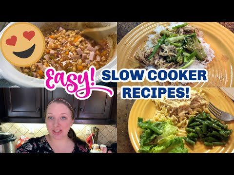 CROCKPOT RECIPES 2019 | SLOW COOKER MEALS | COMFORT FOOD