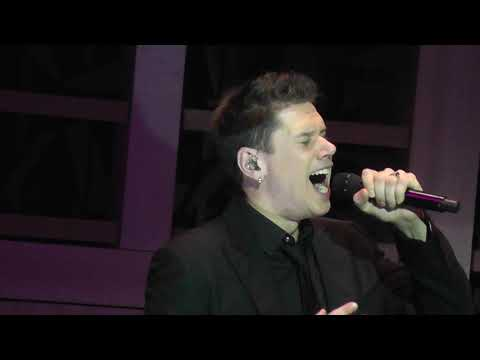 IL DIVO in Moscow - All of me  (only David) 01.11.2018