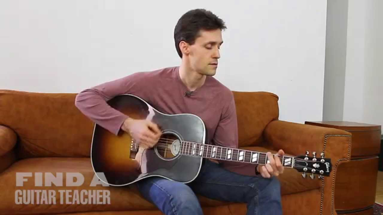 Chord Progression 1 4 5 Guitar Lesson Youtube