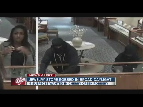Smash and grab robbers hit Williams Jewelers in Cherry Creek