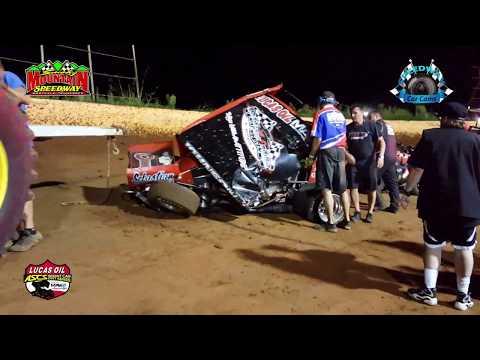 Lucas Oil ASCS Sprint Car Feature - 8-26-17 Smoky Mountain Speedway
