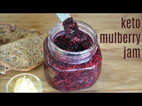 Keto Mulberry Jam   Keto Condiments   Keto Recipes   Low Carb