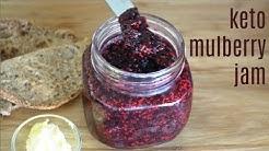 Keto Mulberry Jam | Sugar-Free Jam | Keto Recipes | Low Carb