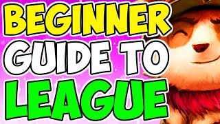 Beginner's Guide To League of Legends + Tips And Tutorial 2019 - 2020 Season 10