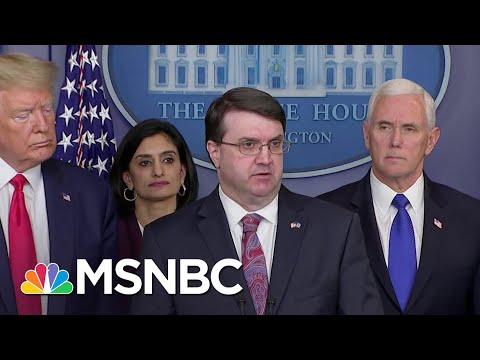 Lack Of Leadership By Wilkie Cited In VA Shortcomings On COVID-19 | Rachel Maddow | MSNBC