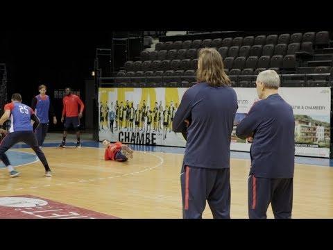 Inside : l'entraînement à Chambéry