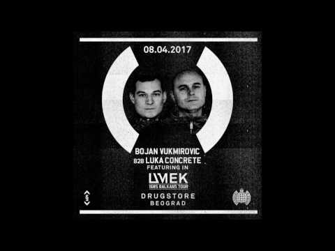 Luka Concrete B2B Bojan Vukmirovic - Live @ Umek, Drugstore 08 04 2017