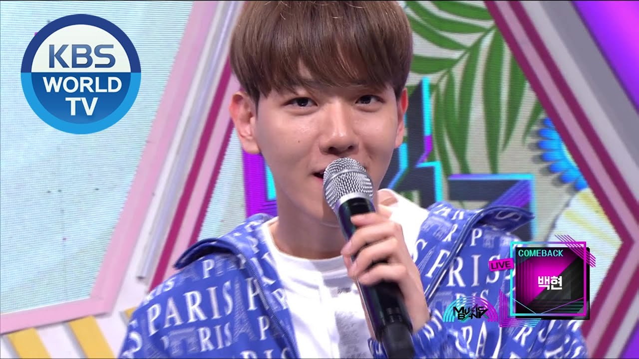 Interview With Baekhyun Music Bank 2020 06 05 Youtube