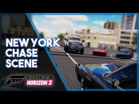 Forza Horizon 3 | Fate of the Furious Recreation (Build & New York Chase)